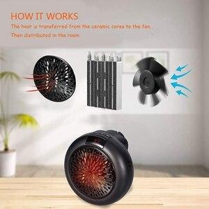 Heater Fan Plug in 900W Mini H
