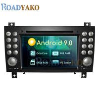 Android 9.0 Auto Car Radio Multimedia Video player For Mercedes Benz SLK 171 2004 2011Stereo Car Navigation GPS магнитола 2 Din