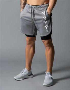 2020 new summer running shorts men sports Jogging fitness Training Quick dry gym
