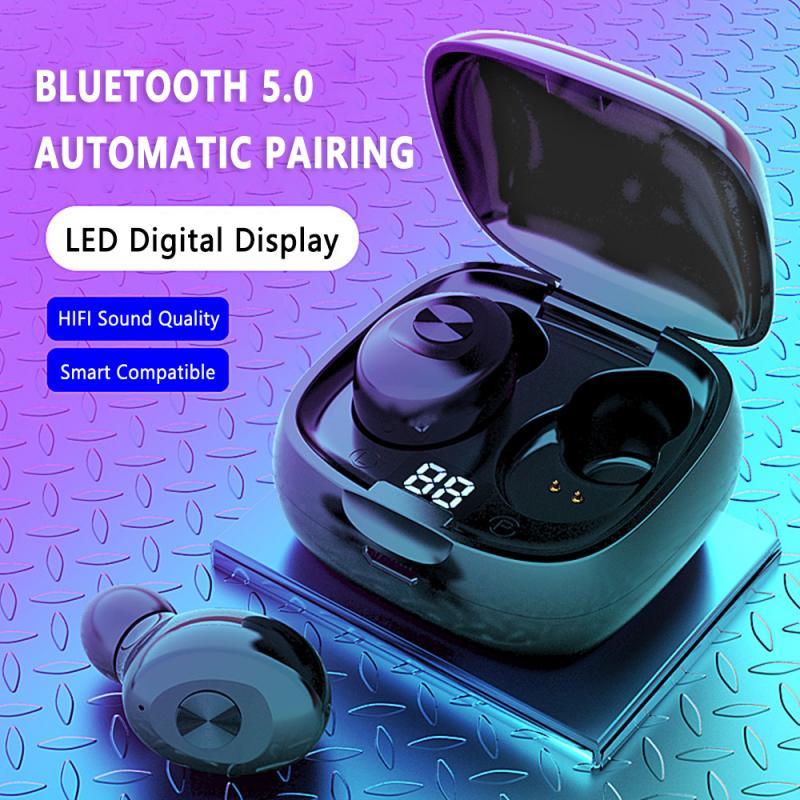 WEIMIAOYIN XG8 TWS 5.0 Wireless Bluetooth Earphone Earbuds Dual Stereo 8D HIFI Sound Gaming Headset Handsfree Hd Call Headphones