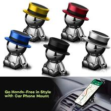 цена на Magnetic Car Phone Holder Mini Air Vent Clip Mount Magnet Mobile Stand For iPhone 11 Xiaomi Support Cell Holder in Car GPS
