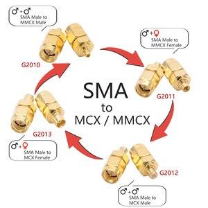1 шт. SMA-SMA разъем мужской женский титановый Электролитный электрод со случайно выбранным SMA-SMA Мужской RPSMA прямо под прямым углом 3-х полосная конвертер ВЧ адаптер