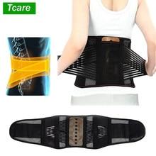 Tcare – ceinture de soutien du bas du dos réglable, pour le soulagement des douleurs dorsales, attelle lombaire pour hernie discale, sciatique