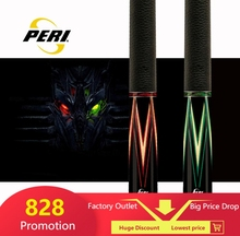 цена на PERI Pool Cue 12.75mm Tip 1/2 Handmade Pool Cue Stick Ergonomic Design Hardwood Canadian Maple Billiard Stick Cue Kit Pool Stick