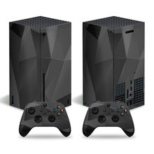 Fragment Style Skin Sticker Decal Cover for Xbox Series X Console and 2 Controllers Xbox Series X Skin Sticker Viny 2
