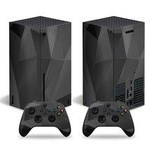 Fragment สไตล์สติกเกอร์ผิวรูปลอกสำหรับ Xbox Series X คอนโซลและ2ตัวควบคุม Xbox Series X สติกเกอร์ผิวไวนิล2