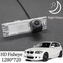 Owtosin HD 1280*720 рыбий глаз камера заднего вида для BMW 1 серии E81/E87 хэтчбек 2004-2011 Автомобильные аксессуары для парковки