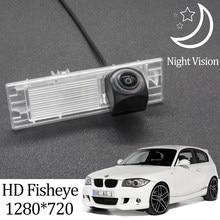 Owtosin Hd 1280*720 Fisheye Achteruitrijcamera Voor Bmw 1 Serie E81/E87 Hatchback 2004-2011 auto Voertuig Parking Accessoires