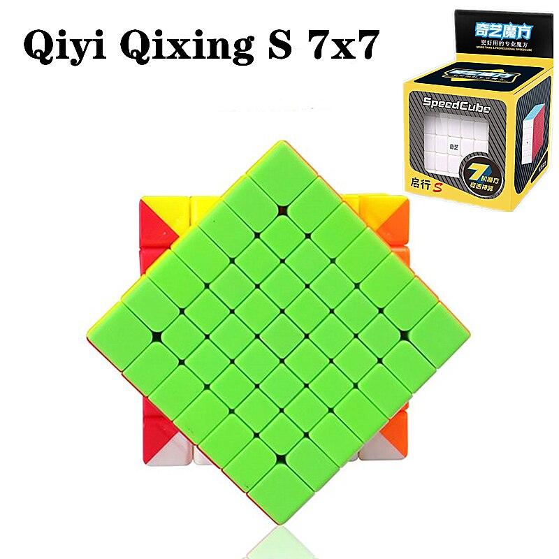 Qiyi Qixing S 7x7x7 магический куб 7x7 скоростной куб 4x4x4 5x5x5 волшебный куб 6x6x6 головоломка образовательные детские игрушки