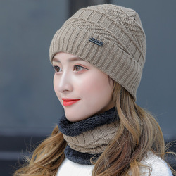 Women's Winter New Korean Style Solid Color Rabbit Fur Hat Solid Color Peaked Cap Thermal Knitting Woolen Fall Hats for Women