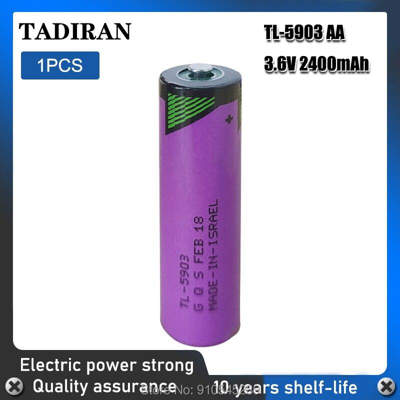 1 sztuk TADIRAN TL-5903 ER14500 3.6V 2400mAh AA PLC bateria litowa 14500 TL5903T dla miernika bezpieczeństwa alert podstawowa sucha bateria