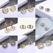 925 silver needle new zircon pendientes retro earrings for women summer charms fashion romantic jewelry holiday gift wholesale