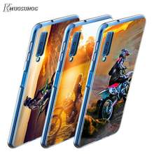 Motocross dirt bikes for Samsung A9 A7 2018 TPU Cover for Samsung Galaxy A8 A6 Plus A5 A3 Star 2017 2016 Phone Case(China)