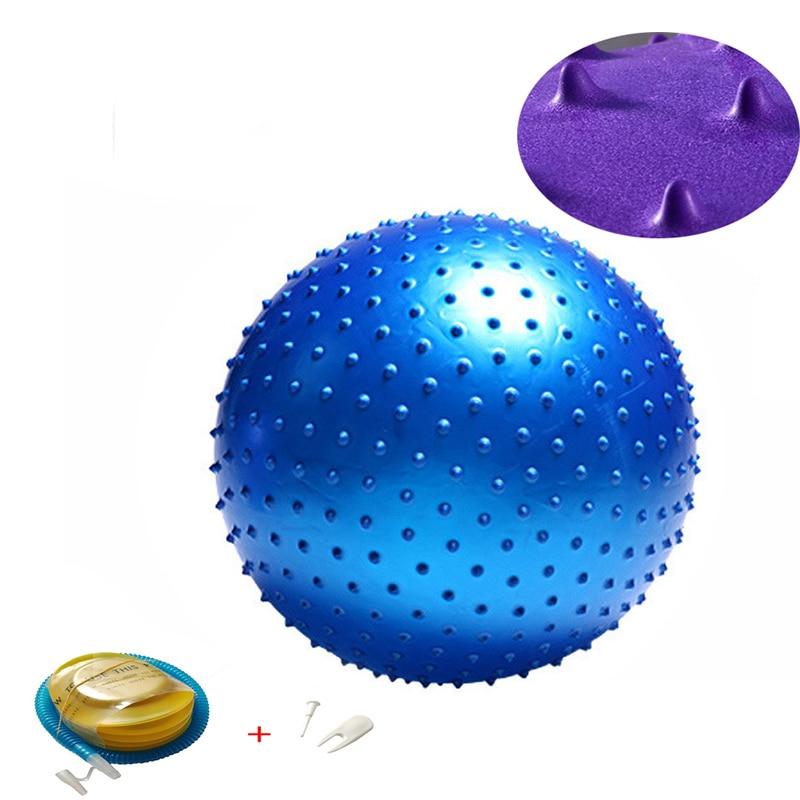 Yoga Balls Pilates Fitness Gym Balance Fitball Exercise Workout Ball 45/55/65/75/85CM With Pump