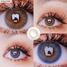 Ovolook 2pcs/пара линз контактные линзы (3 оттенка переходящие
