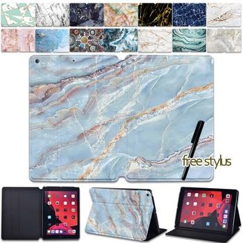 Skórzany stojak pokrowiec na Tablet IPad Mini 1 2 3 4 5 iPad Pro 9 7 10 5 11 Cal iPad Air 1 2 3 iPad 234 ipad 5 6 7 8th Gen tanie i dobre opinie IceBear Case Osłona skóra 7 9 9 7 10 2 10 5 11 inch CN (pochodzenie) Drukuj Dla apple ipad Biznes Odporny na wstrząsy