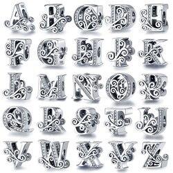 925 Sterling Silver pandora beads fit Pandora bracelet DIY pendant pandora charms silver 925 original