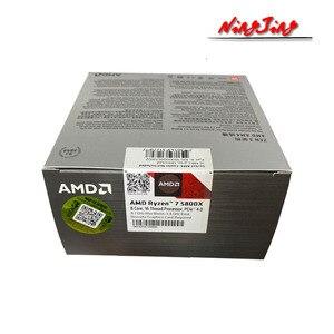 Image 4 - AMD Ryzen 7 5800X R7 5800X 3,8 ГГц Восьмиядерный 16 нить Процессор процессор 7NM L3 = 32 м 100 000000063 гнездо AM4 новый, но без кулера