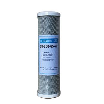 Wody filtr węgla aktywnego filtr z wkładem 10 cal wkład wymienny filtr blok węglowy CTO filtr węglowy filtr do wody tanie i dobre opinie