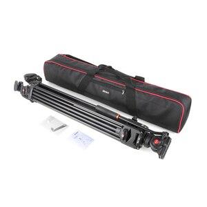Image 5 - VILTROX VX 18M 1.8M Professional แบบพกพา Heavy Duty Stable อลูมิเนียมลื่น Video + ขาตั้งกล้องไฮดรอลิกหัววิดีโอกล้อง DV