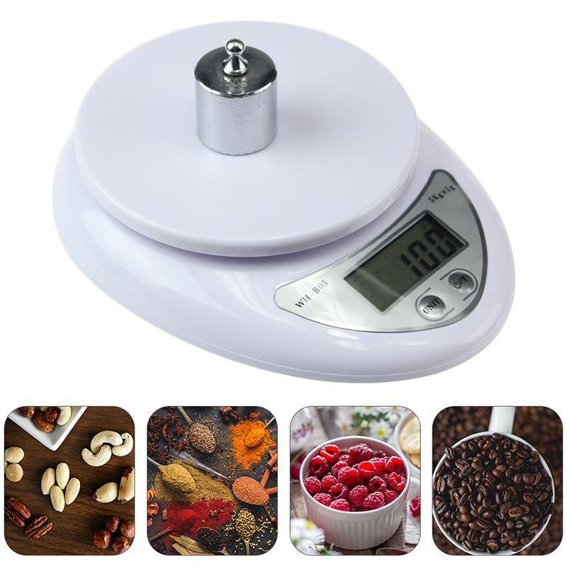 Household Digital Kitchen Scale Electronic Weighing Food Health Diet Measuring High Quality Precision Scale Balance Jewelry Scal