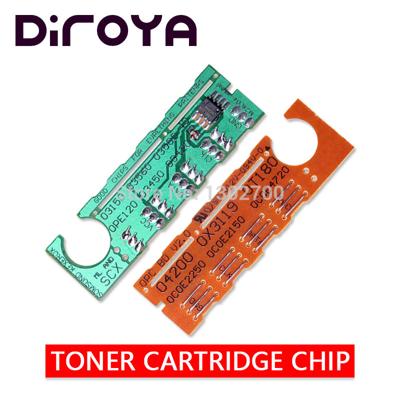 Free Shipping SCX D4200A toner cartridge chip for Samsung SCX 4200 SCX 4200 D4200 D4200A 4210 SCX 4210 printer powder reset 3K|Cartridge Chip| |  - title=