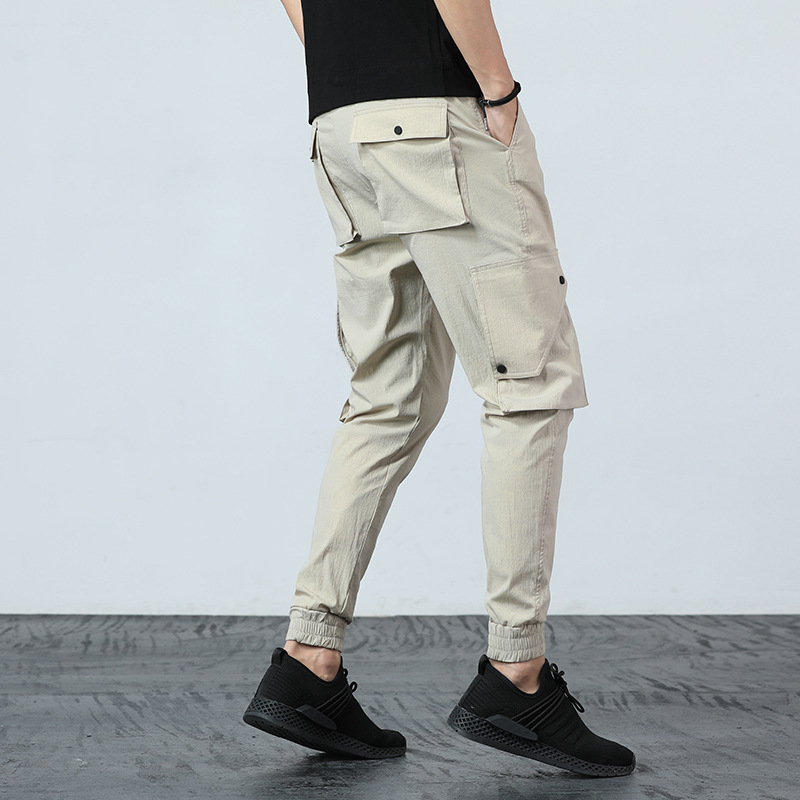 Casual MEN'S Overalls Men's Casual Pants New Style Athletic Pants Men's New Products MEN'S Pants Loose And Plus-sized EA7 Fat