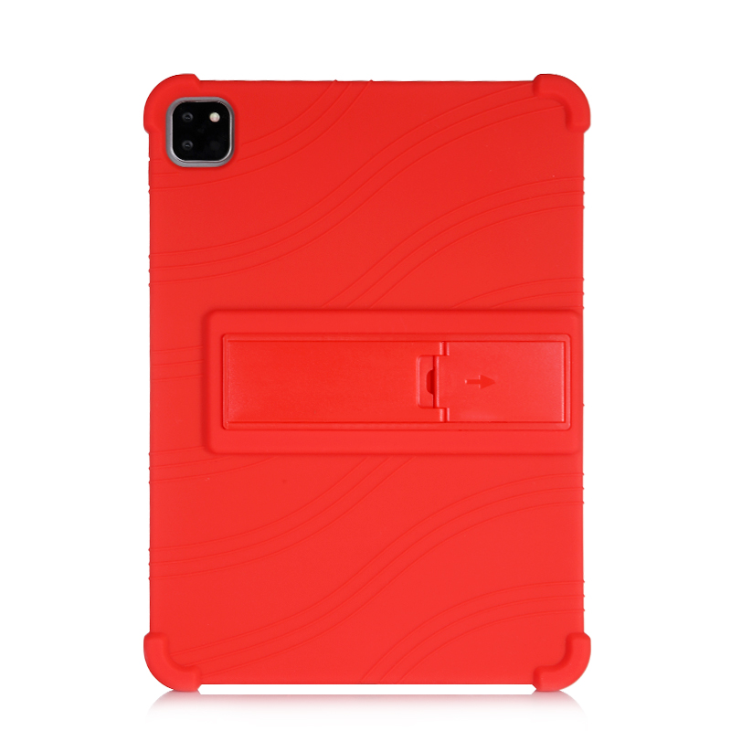 Red Red SZOXBY For iPad Pro 11 Case 2020 Flip Silicone Soft Cover For iPad Pro 11 2nd