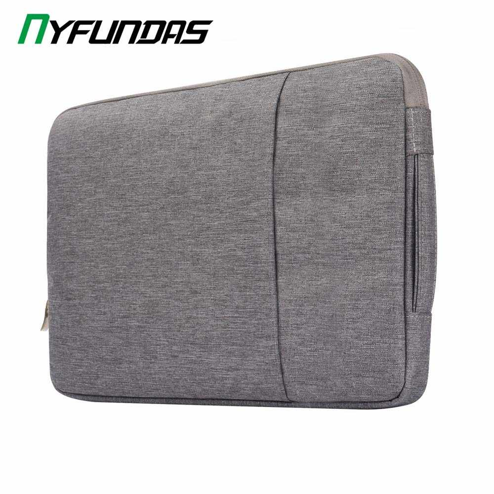 Bolsa impermeable para ordenador portátil 11 13 15 para Macbook Air Pro 13 funda para ordenador portátil para macbook pro Air 13 2019 2018 Xiaomi Air Bag Cover