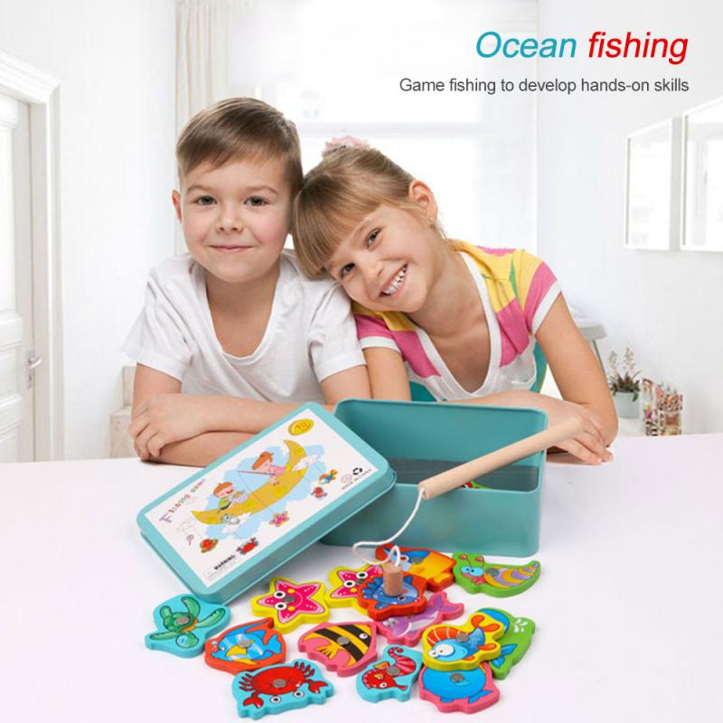 Fishing Wooden Magnetic Game