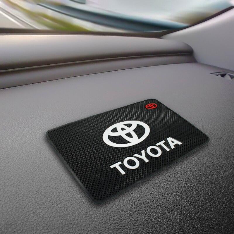 Car Anti Slip Pad Silica Gel Sticky Pad Dashboard Mobile Phones Shelf Cushion for Toyota chr corolla auris avensis yaris rav4