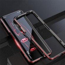 Metalowa rama krawędź twarde etui ochronne dla Nubia Z20 akcesoria etui na telefon odporna na wstrząsy ramka bumpera Shell dla Nubia Z20