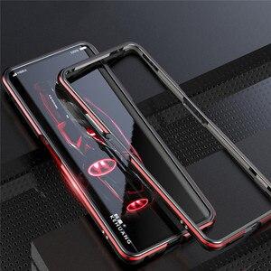 Image 1 - Étui de protection solide de bord de cadre en métal pour Nubia Z20 accessoires housse de téléphone antichoc coque de cadre de pare chocs pour Nubia Z20