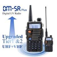 Baofeng Digital Radio DM 5R plus Dual band 136 174&400 520MHz Portable DMR Radio Station Baofeng Walkie Talkie 2000mAh