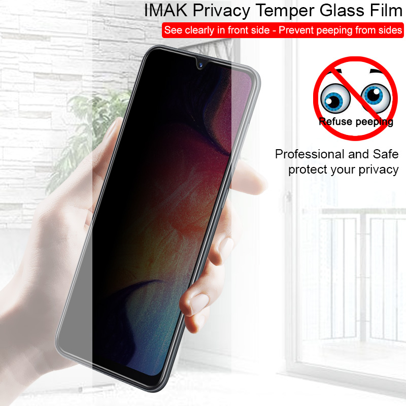 Protect Privacy for <font><b>Samsung</b></font> Galaxy A20 A20e A30 A40 <font><b>A50</b></font> A60 A70 A80 A90 M30 A40S tempered <font><b>glass</b></font> Imak screen protector anti spy image