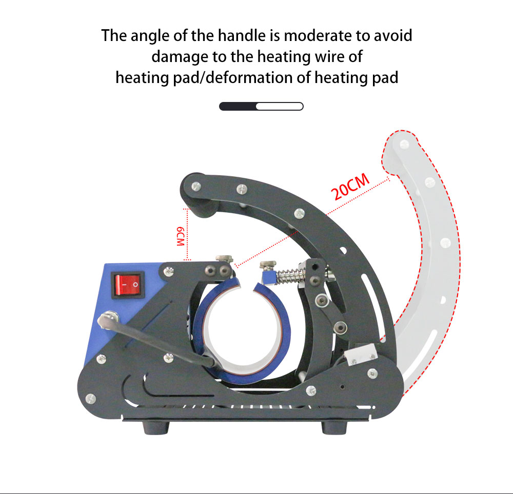 mug heat press machine miracle sublimation machine (4)