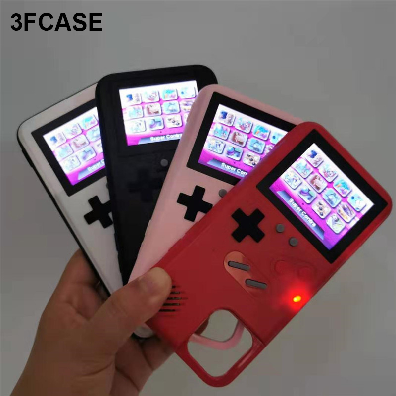 Drop Shipping Gameboy Phone Case Playable Game Boy Back Cover Teris Retro Console Coque For iPhone