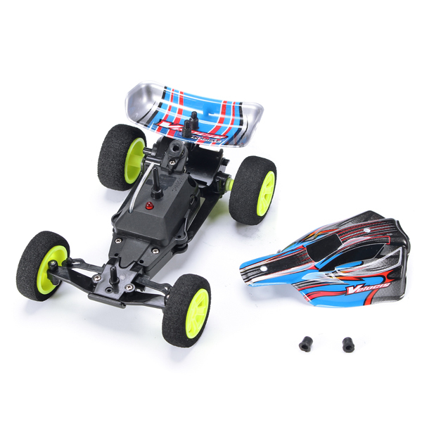 Velocis 1/32 2.4Ghz RC Car Mutiplayer in Parallel 4 CH Radio Control Car Operate USB Charging Edition RC Formula Car Model Toys 3