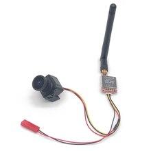 Gotowy do użycia zestaw 5.8G FPV 600mw nadajnik wideo TS5828 / mini CMOS 1200TVL kamera FPV z kablem do RC FPV Racing Drone