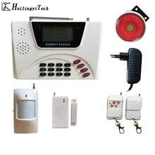 HuilingyiTech беспроводной контроль домашней безопасности GSM сигнализация домофон дистанционное управление Autodial датчик сигнализации комплект