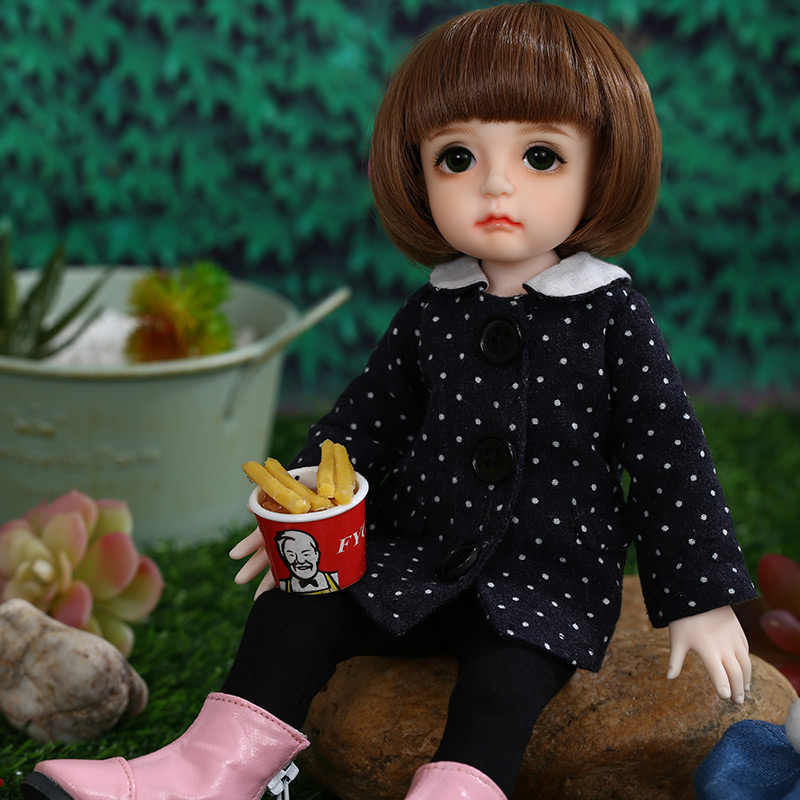 Muñeca BJD de goma de peluche, regalo para niño y niña 1/6 BJD SD, figuras de resina, modelo de cuerpo, muñecas para bebés y niños, tienda de moda