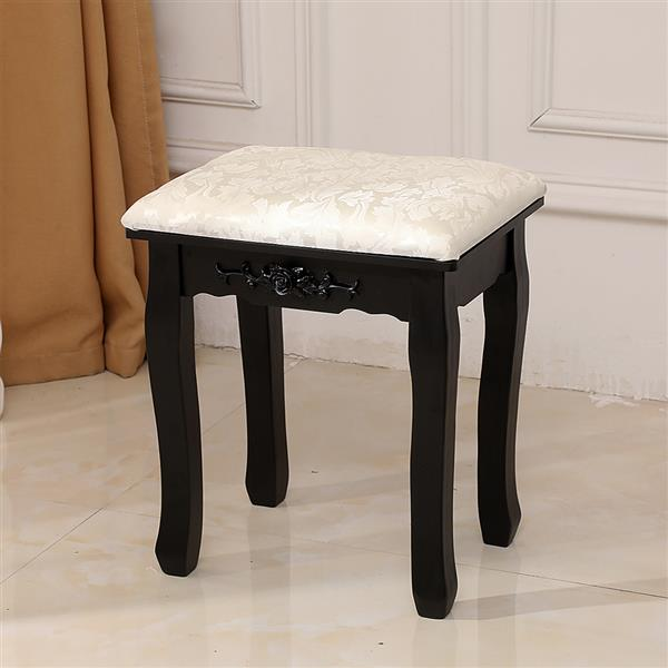 Solid Wood Dressing Stool Soft Piano Stool Makeup Stool Chair