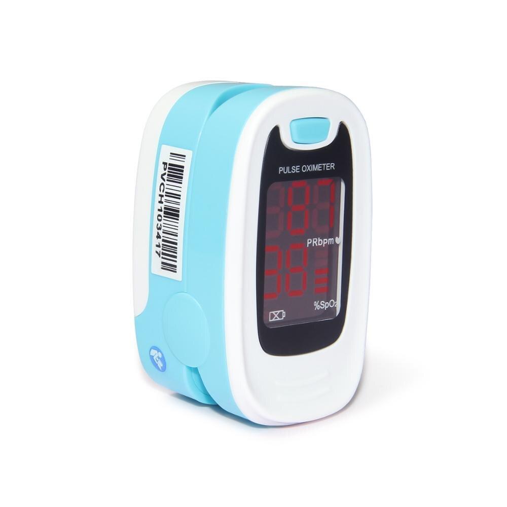 10 шт. CMS50M1 пальцевой пульсоксиметр с кончиком пальца с футляром оксиметр de pulso de dedo светодиодный Пульсоксиметр Сатуратор пульсиоксиметр