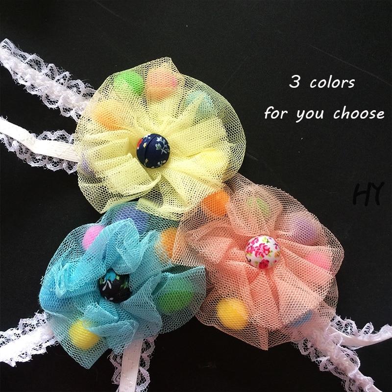 1 Pcs/lot Cute Grosgrain Ribbon kids Girls Hairbands Bohemian Style Childrens Headbands Headwear Hair Accessories