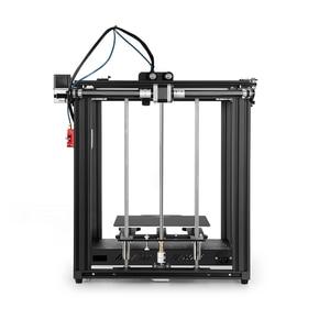 CREALITY 3D принтер новый Ender-5 Pro Бесшумная доска Предустановленная магнитная сборка пластина отключение питания запасная печать закрытая конст...