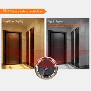 Image 3 - 2.8 インチ液晶カラー画面デジタルドアベル赤外線モーションセンサーロングスタンバイナイトビジョン HD カメラ屋外ドアベル