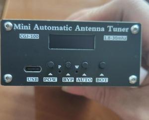 Image 3 - Assembled ATU 100 1.8 50MHz ATU 100mini Automatic Antenna Tuner by N7DDC 7x7 + 0.91 inch OLED + case  ,Type C