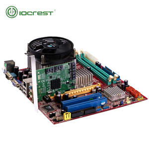 Image 3 - IOCREST PCIe 4 Ports 6G SATA III 3.0 Controller Card Marvell 88SE9215 Non Raid PCIe 2.0 x1 Expansion Card Low Profile Bracket