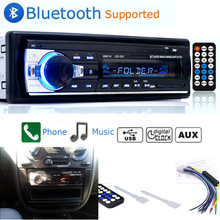 Jintang bluetooth autoradio carro estéreo rádio fm aux entrada receptor sd usb JSD-520 12v in-dash 1 din carro mp3 multimídia player