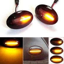 Sekwencyjna lampka kierunkowskazu dla forda Fiesta III IV MK3 MK4 KA Mondeo I MK1 Transit Tourneo MK6 MK7 LED dynamiczne światło obrysowe boczne